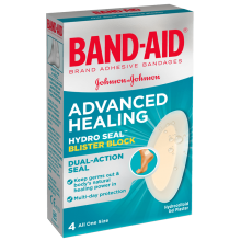 Advanced Healing Blister Block Regular 4's