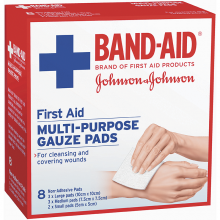 First Aid Gauze Pads 8