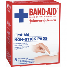 First Aid Non-Stick Pads 8