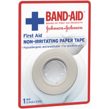 First Aid Paper Tape 9.1m